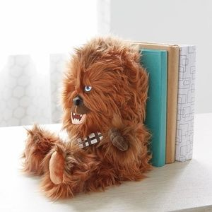 Accents - New Star Wars Chewbacca bookend decor toy shelving